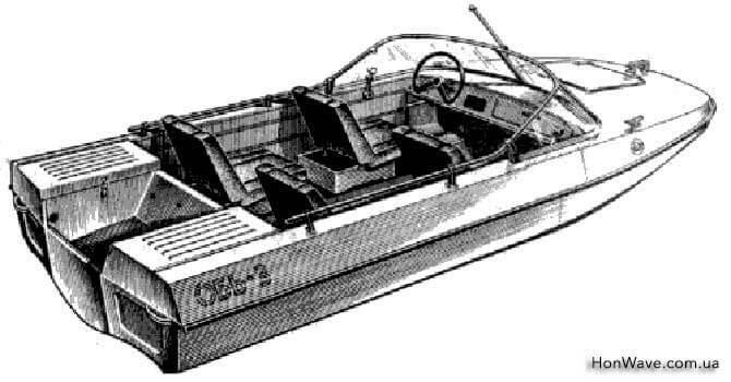 характеристики мотолодки обь-3