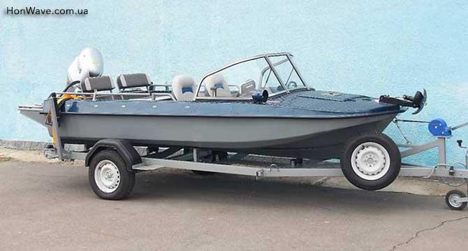 тюнинговая моторная лодка обь-3